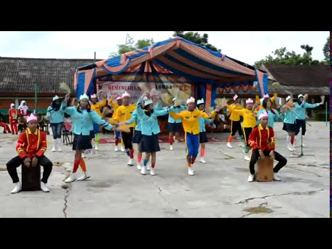 Juara 1 Lomba Yel SMP PLUS Murung Pudak HUT Kabupaten Tabalong Ke 49 Tahun