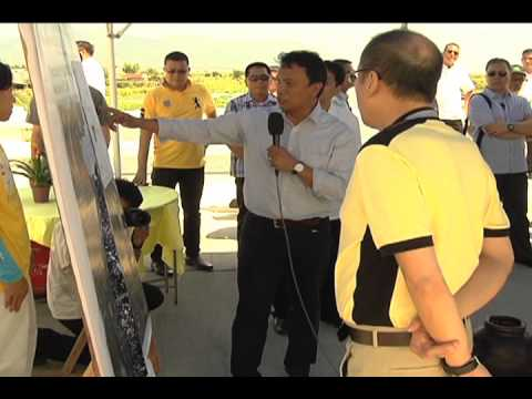 Launching DPWH-LLDA Flood Control and River Protection Convergence Project 04/05/2013