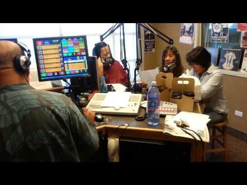 Bob's Big Bear Diner Waipahu visits Kool Oldies 107.9 fm morning