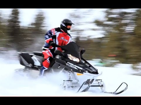 2013 Polaris Switchback Adventure 800 Snowmobile Review