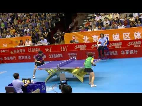 2013 CTTSL Beijing Vs Jinhua: Guo Yan vs Yang Yang [HD] [Full Match]