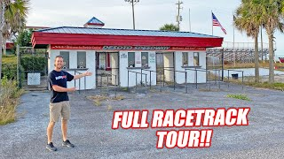 Freedom Factory TOUR #2 - Welcome Inside!!! Garages, Race Control, Abandoned Tow Truck and More!