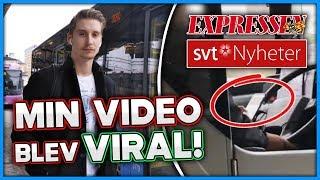 min video som blev viral *SVT Nyheter, Expressen*