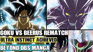 Dragon Ball Kakumei: Ultra Instinct Goku Vs Beerus Rematch! A Level Above Ultra Instinct!