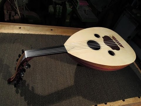 Building a Turkish Oud, Arabic tuning by Yaron Naor