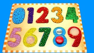 Learn Colors and Numbers with Color Beads
