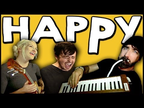 HAPPY - Walk off the Earth Ft. Parachute Music Videos