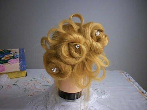 Bouquet Hairstyle / Penteado Buquê