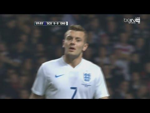 Jack Wilshere vs scotland (Away) 18.11.2014 Individual Highlights HD