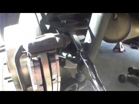 DIY How to replace install rear brake pads 2008 Toyota Sienna