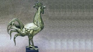 The Prize Of Eric Joisel Award 2012 : Origami Rooster Folded By Eric Joisel