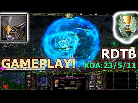 DOTA 1 - Mortred Phantom Assassin | RDTB GAMEPLAY ● 1080P