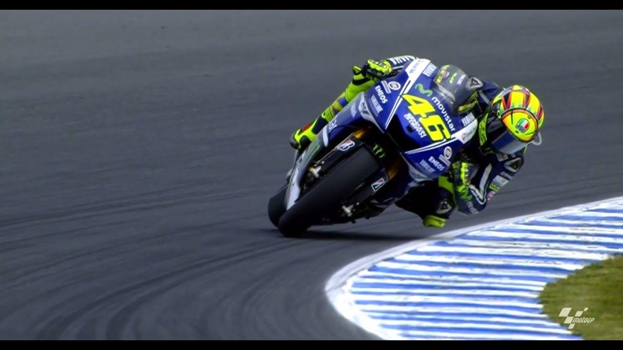 Gara MotoGP Australia - Vittoria Valentino Rossi - YouTube