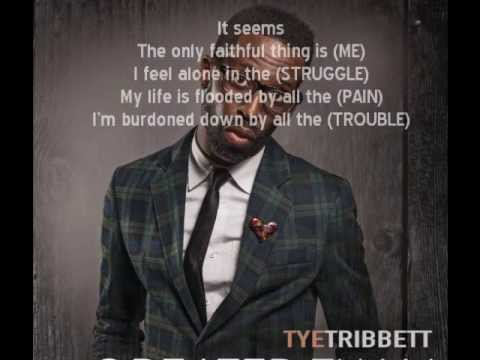 TYE TRIBBETT - BETTER LYRICS - SongLyrics.com