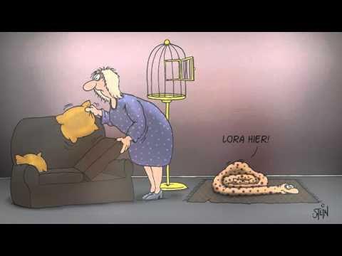 Uli Stein Cartoons Happy Snakes 2011 - YouTube
