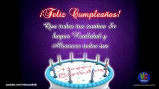 Feliz Cumpleaños, Te Deseo Lo Mejor En Tu Dia, Felicitaciones De Cumpleaños Animadas