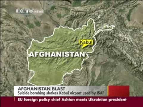 Suicide bomber attacks German troops near airport in Afghan capital