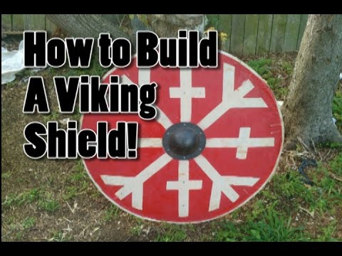 How To build a Period Viking Round Shield