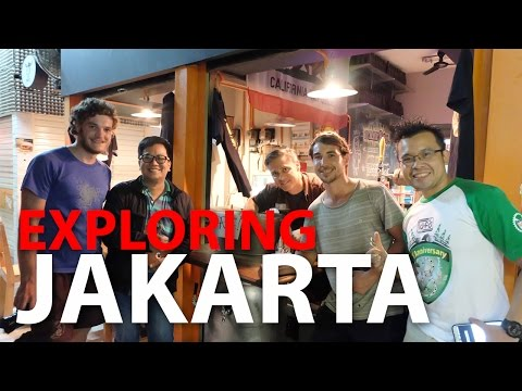 Enjoy and Exploring The Beauty of Jakarta (TRAVEL VLOG)