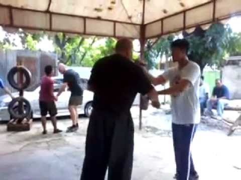Nickelstick Balintawak Eskrima training with GM Bobby Taboada Image 1