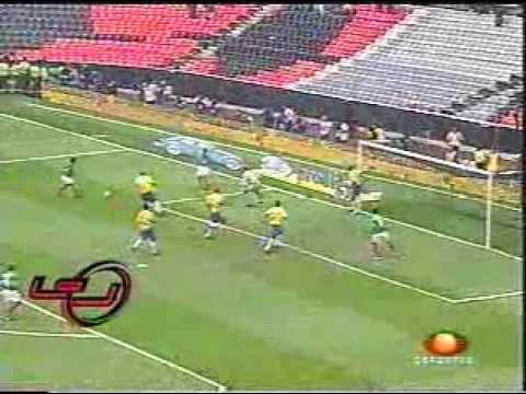 MEXICO VS BRASIL COPA ORO 2003,FINAL DE COPA ORO