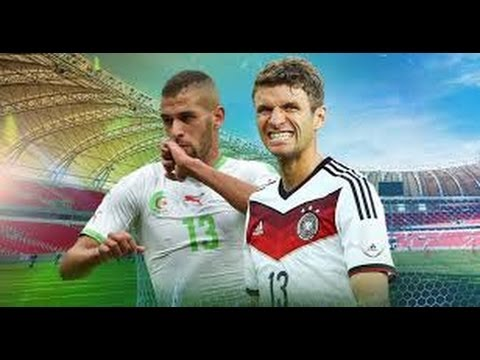 Germany 2 vs Algeria 1, knockout stage, Fifa world cup 2014