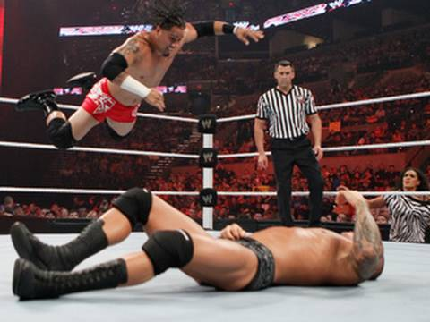 Raw: Randy Orton Vs. Jey Uso video