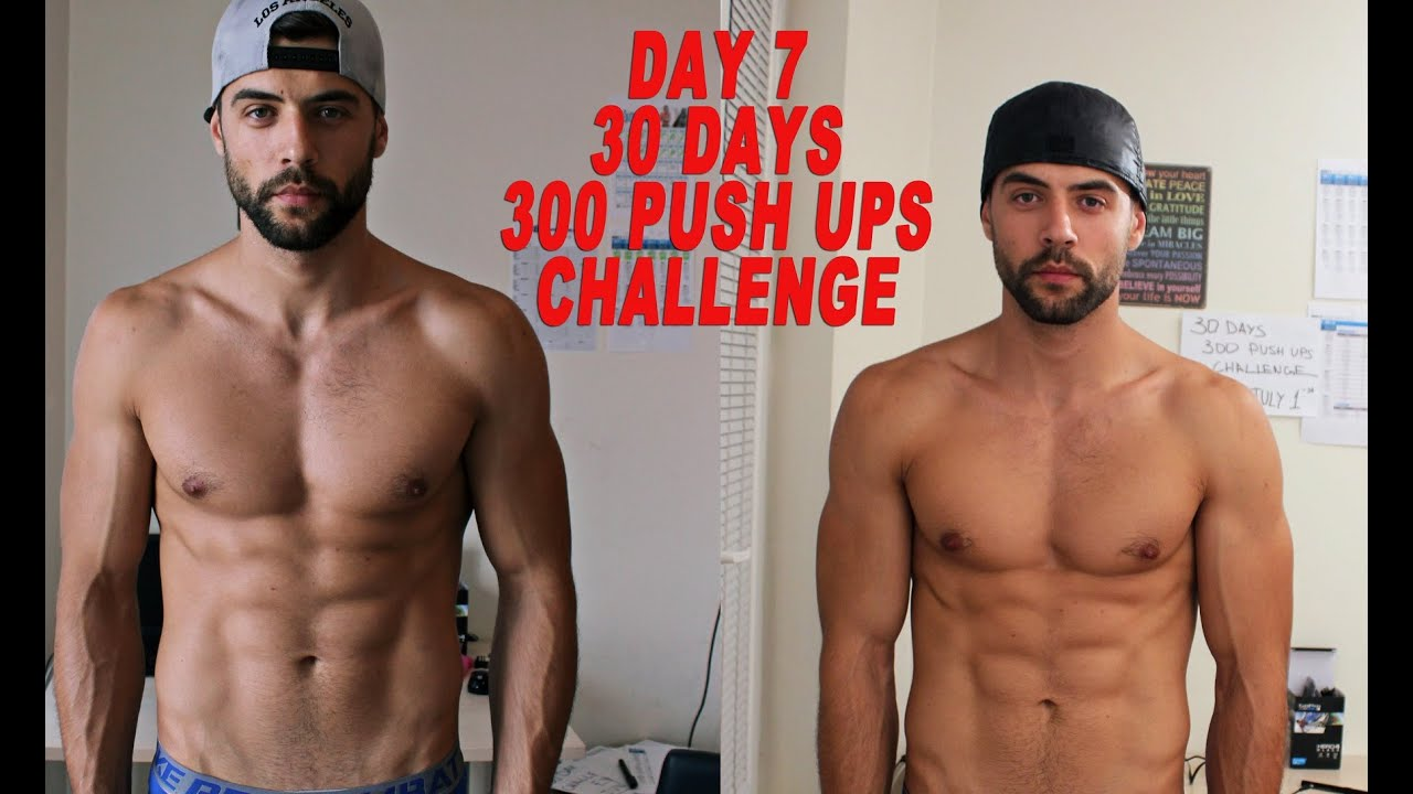 photo 100 Push-Ups a Day Challenge: Before and After Results