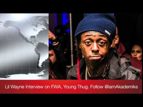 Lil Wayne Says he Loves Young Thug, Speaks on Birdman + 500 Degrees and Louisiana!
