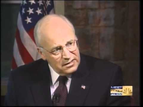 9/11 Meet The Press With Dick Cheney NBC September 16, 2001 10:30am - 10:45am
