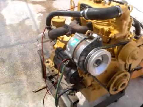 Diesel Engine 2cyl 16hp