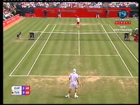 Dmitry Tursunov vs. Guillermo Garcia Lopez, QF Nottingham 2007, 1st set