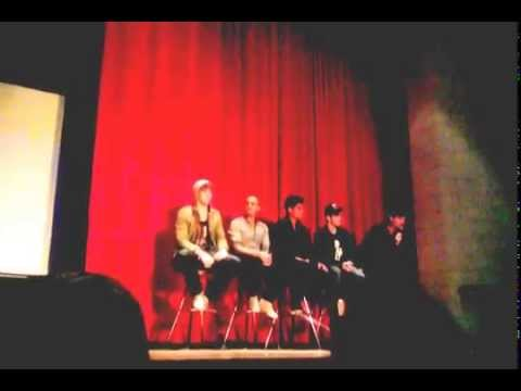 The Wanted at Roseville High School