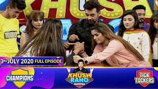Game Show | Khush Raho Pakistan Champions Vs Tick Tockers | Faysal Quraishi | 3rd July 2020