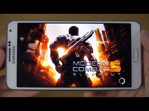 Modern Combat 5 Samsung Galaxy Note 3 4K Gaming Review