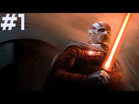 Star Wars: Knights Of The Old Republic - Walkthrough - Light Side - Part 1 - Trask The Bed Intruder