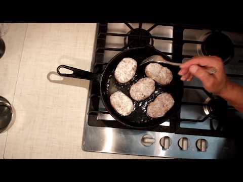 Как жарить котлеты на сковороде - видео