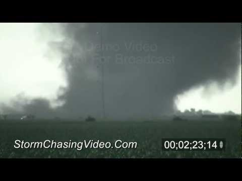 6/20/2011 Bradshaw Nebraska Tornado Stock Footage
