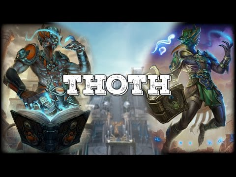 SMITE: Thoth | ALL Abilities Leaked (Skins, Mage confirmed?)