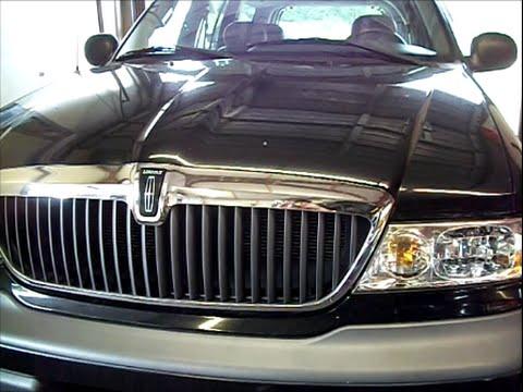 98 Lincoln Navigator AC blend door actuator motor & Blend Door replace pt1