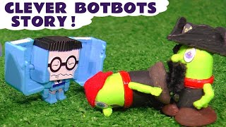 Funny Funlings pranked by Transformers Botbots | Cheeky Robots in disguise TT4U