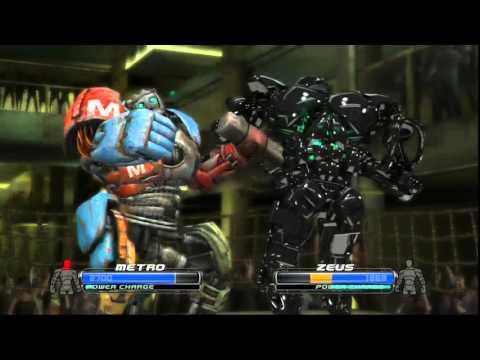 Real steel-Metro vs Zeus(Живая сталь-Метро против Зевса)Метро vs Зевс(кто сильней)
