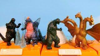 """Godzilla Miniature Diorama Figure - BANDAI Toys """"Best of Godzilla"""""""