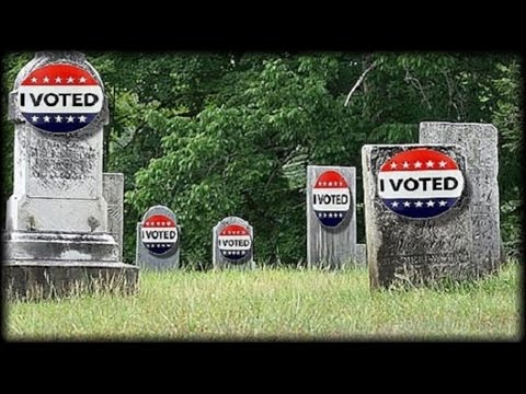 DEAD VOTES! 1.8 MILLION DEAD PEOPLE ON VOTER ROLLS, 2.75 MILLION REGISTERED IN TWO STATES