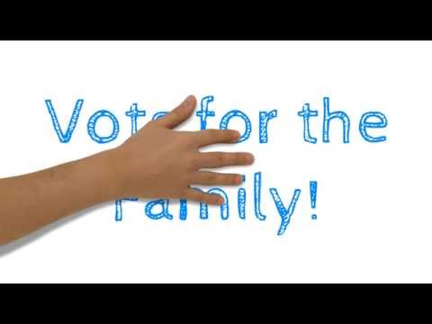 Vote for Family! EU Elections Campaign 2014