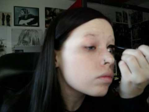 Simple Makeup For School Simple Gothic School Make up