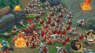 Mobile Legends BIGGEST MINION ARMY EVER!