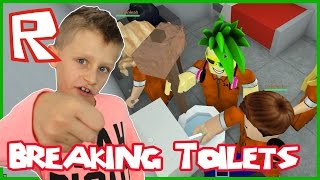 Roblox Prison Life / Breaking Toilets