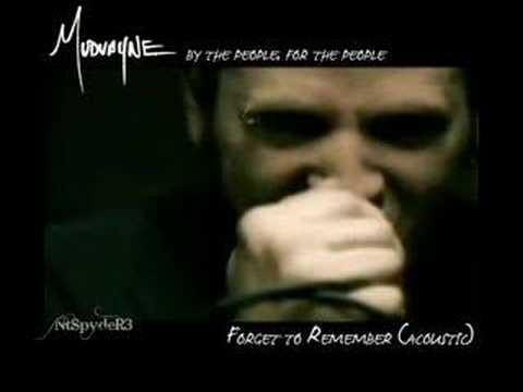 Mudvayne - Forget To Remember (Acoustic) Music Videos
