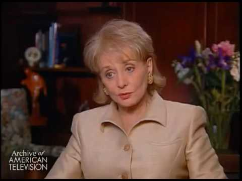 Barbara Walters on interviewing Katharine Hepburn - EMMYTVLEGENDS.ORG